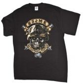 "ФУТБОЛКА USMC ""WE FIGHT WHAT YOU FEAR"" Black Ink Design"